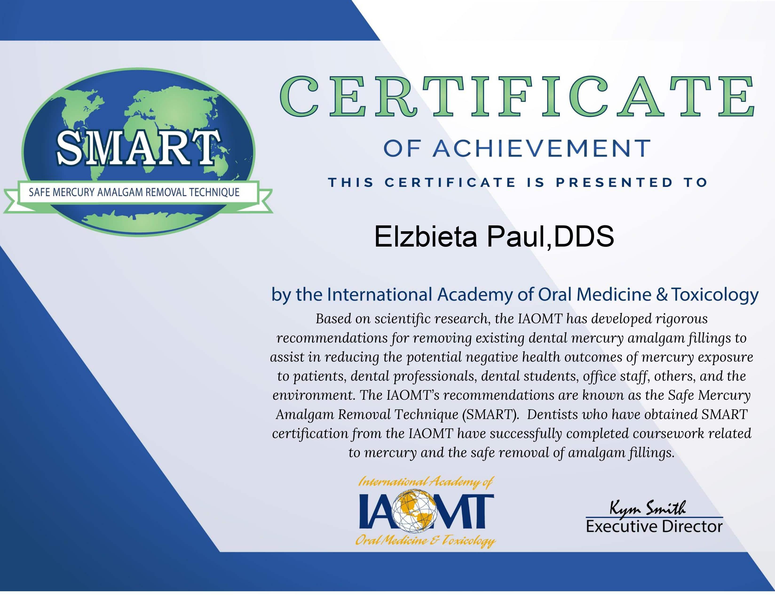 Smart Certified Office Certificate